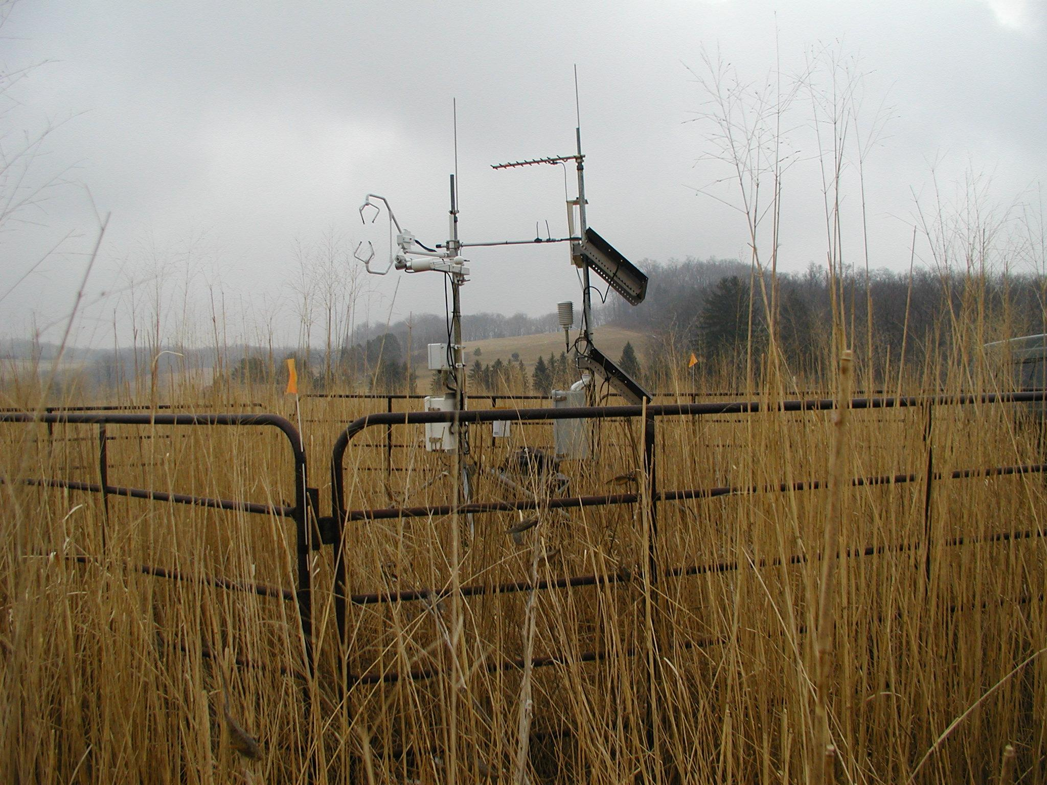 atmospheric carbon flux monitoring