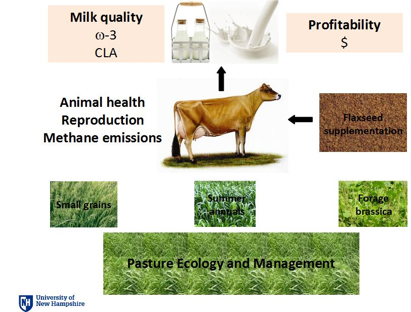 milk quality, profitability, pasture ecology